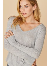 LNA Drapey Modal L/S Tee Grey