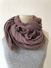 It is well L.A. Gauze Scarf Mauve