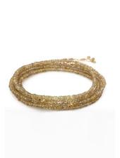Anne Sportun Gemstone Wrap Bracelet Garnet