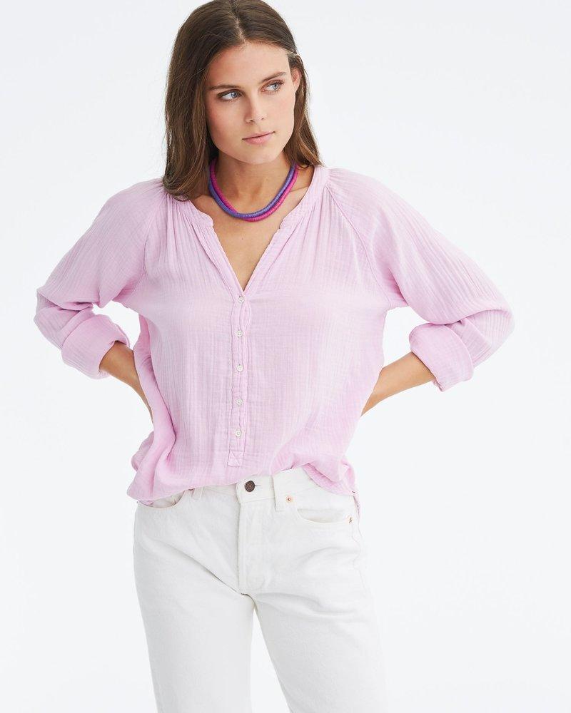 Xirena Hemingway Gauze Top Lilac