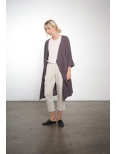 It is well L.A. Gauze Duster Pewter