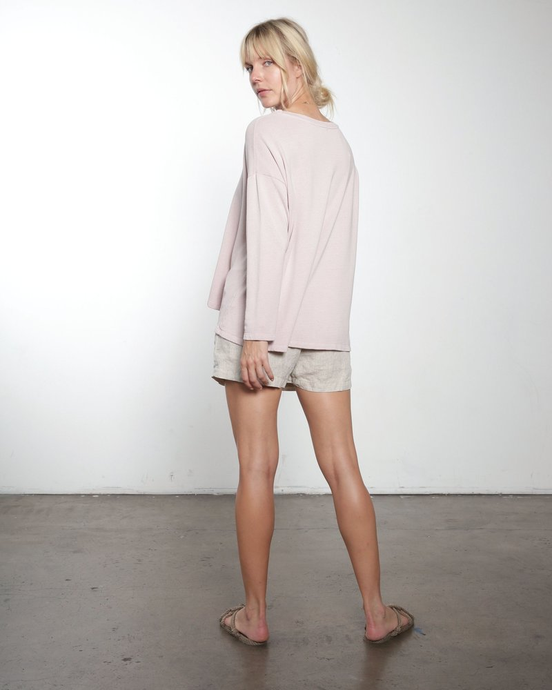 It is well L.A. Hi LO Sweatshirt Blush