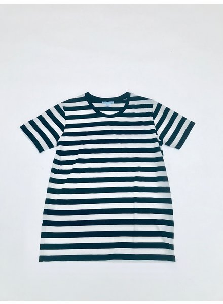Lost & Found Basic Stripe Tee Black