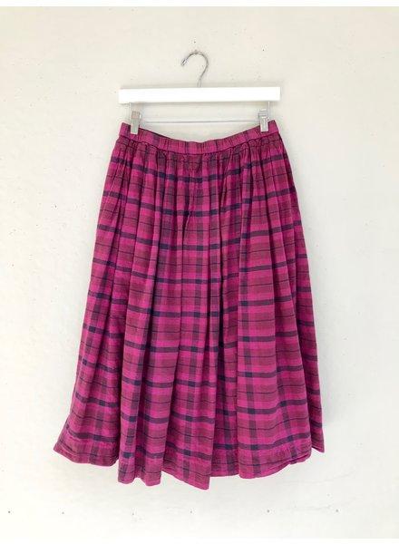 Auntie Oti Pleat Skirt
