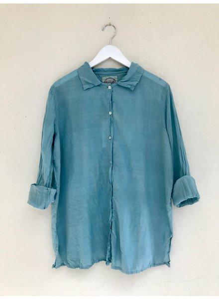 Auntie Oti Solid Button Shirt