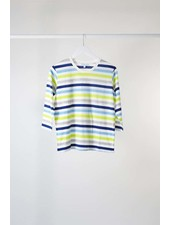 Lost & Found 3/4 Slv Stripe Tee
