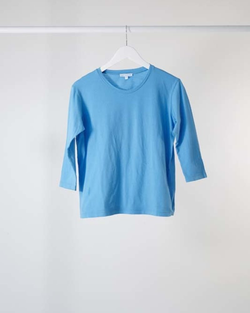 Lost & Found 3/4 Sleeve Tee Turquoise