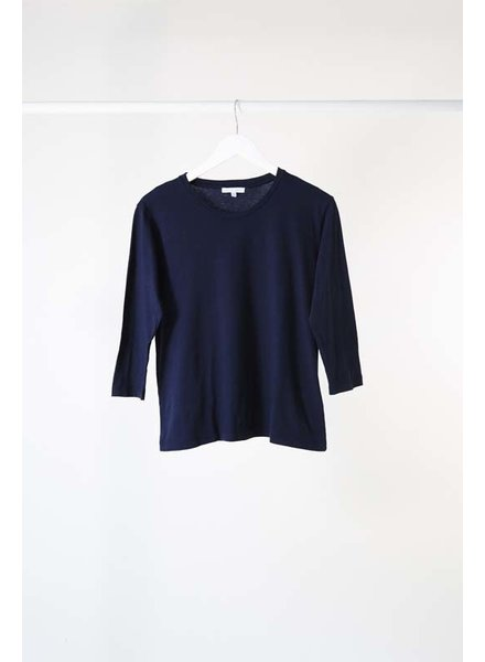 Lost & Found 3/4 Sleeve Tee Navy