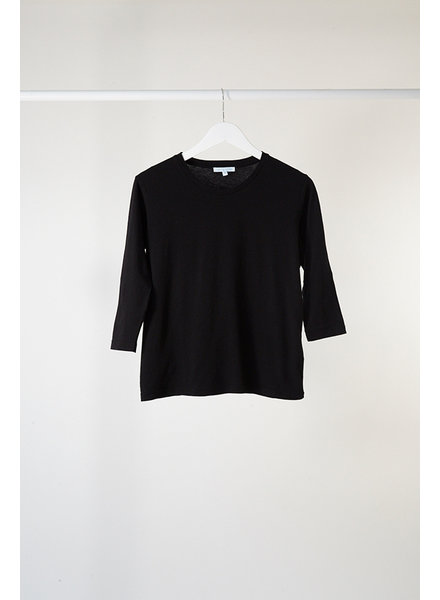 Lost & Found 3/4 Sleeve Tee Black