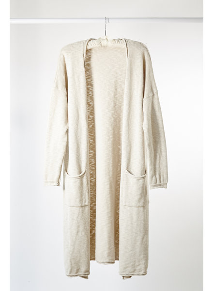 It is well L.A. Maxi Cardigan Natural