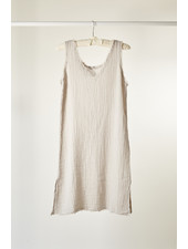 It is well L.A. V-Neck S/Less Dress Zinc