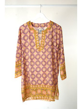 Bell Kurta Purple