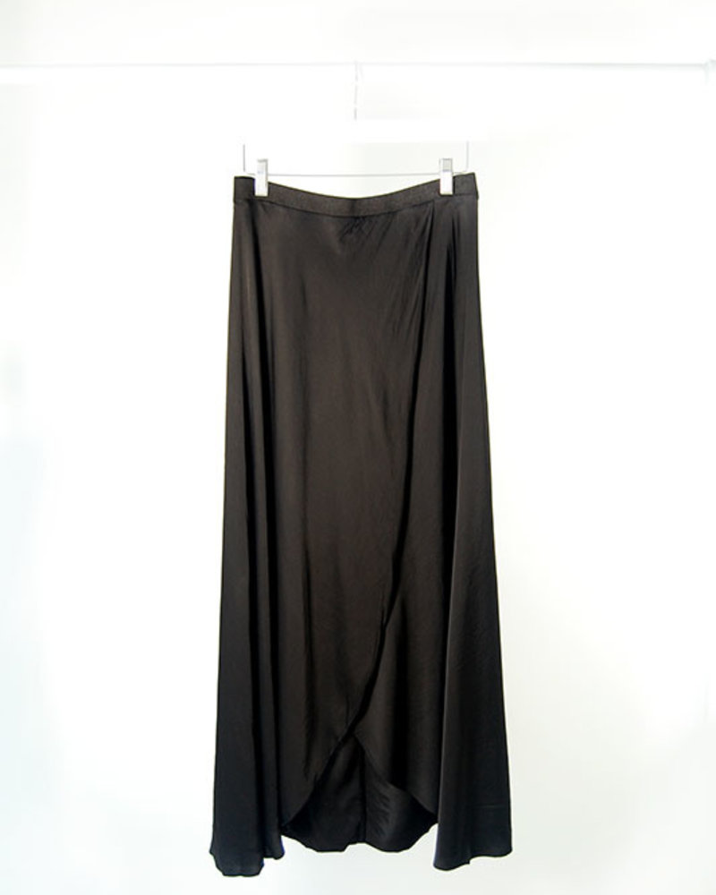 Nation N Wrap Skirt Black
