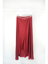 Nation N Wrap Skirt Pomegranate