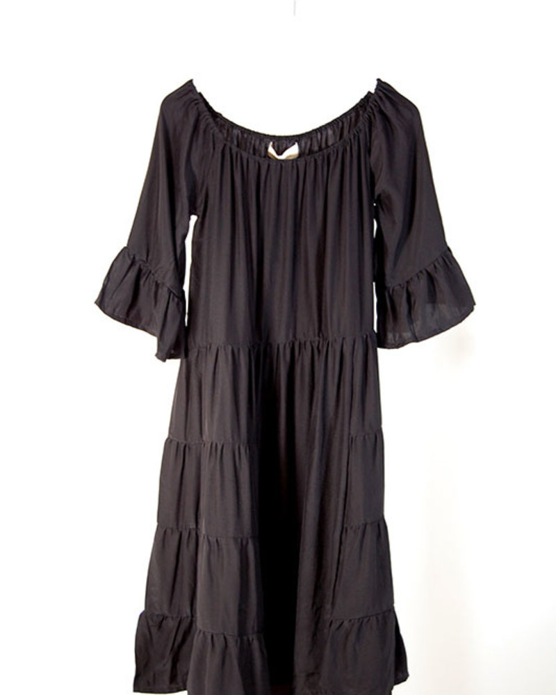 Natalie Martin NM Mesa Dress Black