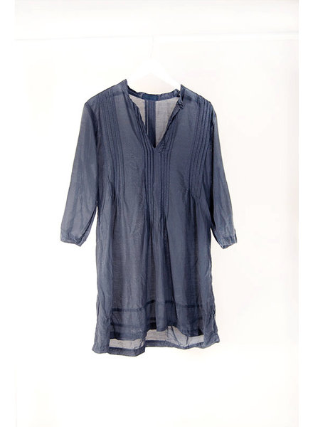 CP Shades CP S. Regina Silk Tunic Ink