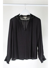 See U Soon SUS Crochet Blouse Black