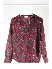 See U Soon SUS Sumal Print shirt Bordeaux