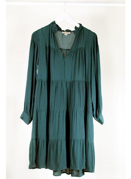 See U Soon SUS Peasant Dress Green