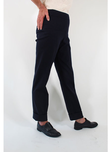 Avenue Montaigne AM Franco Cuff Pant Navy