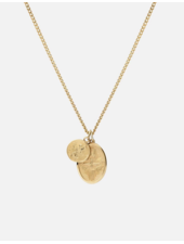 MI Mini Dove Pendant Neck Vermeil