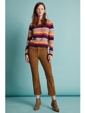 Velvet VT Cash Stripe Sweater Multi