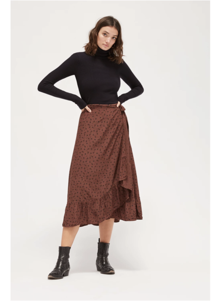 La Causa LC Marley Wrap Skirt Chocolate