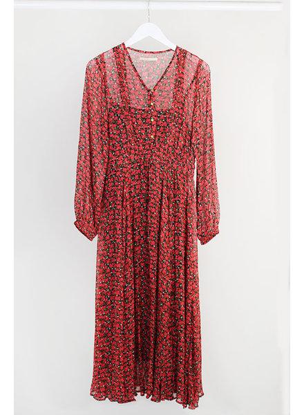 ne Quittez pas NPQ Floral Dress Red