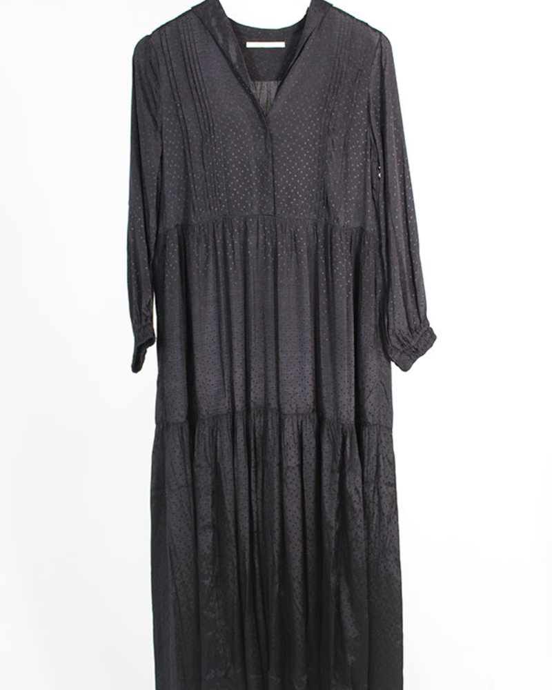 ne Quittez pas NQP Rayon Dress Black