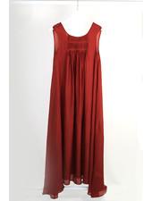 ne Quittez pas NQP Silk Dress S/Less Brick