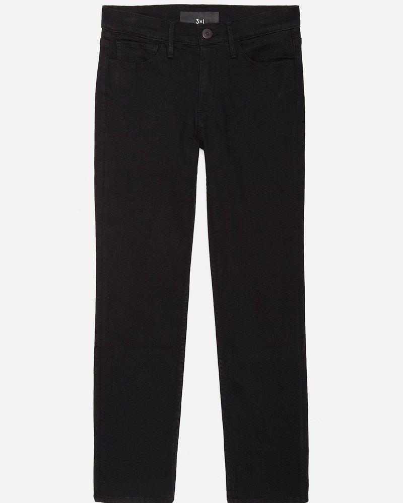 3X1 W2 Straight Crop Black