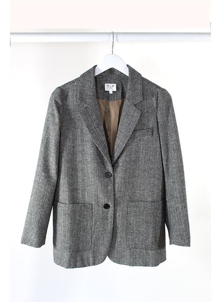 6 Crisp Days 6CD Gorga Blazer Grey