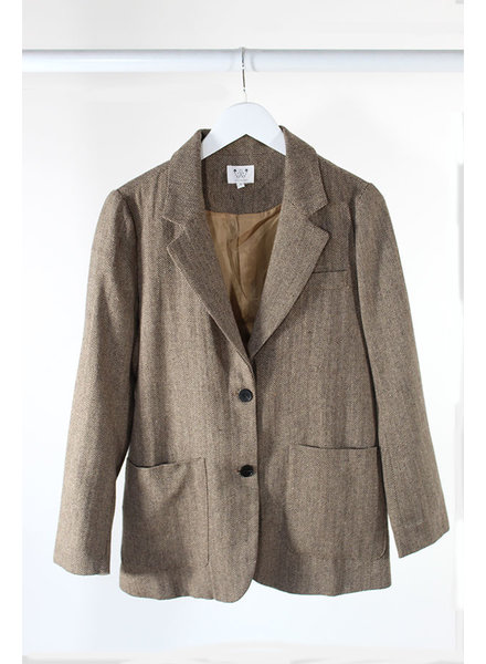 6 Crisp Days 6CD Gorga Blazer Brown