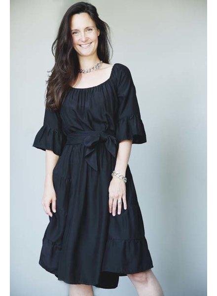Natalie Martin NM Mesa Dress Black