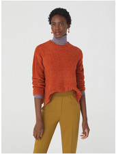 Nice Things NT Chenille Sweater Cinnamon