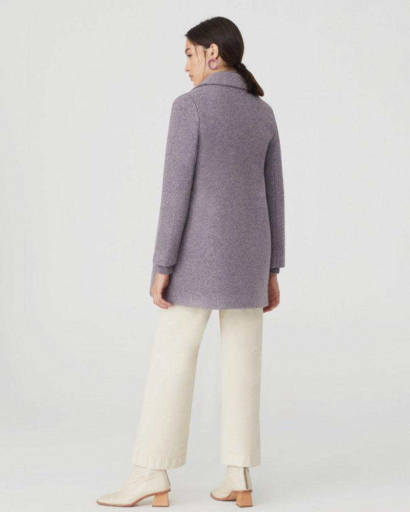 Nice Things NT Texture Basic Coat Mauve