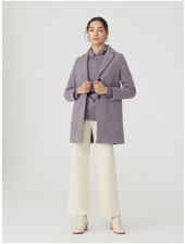 Nice Things NT Texture Basic Coat Mauve