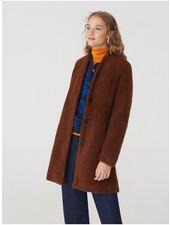 Nice Things NT Sherpa Coat Brown