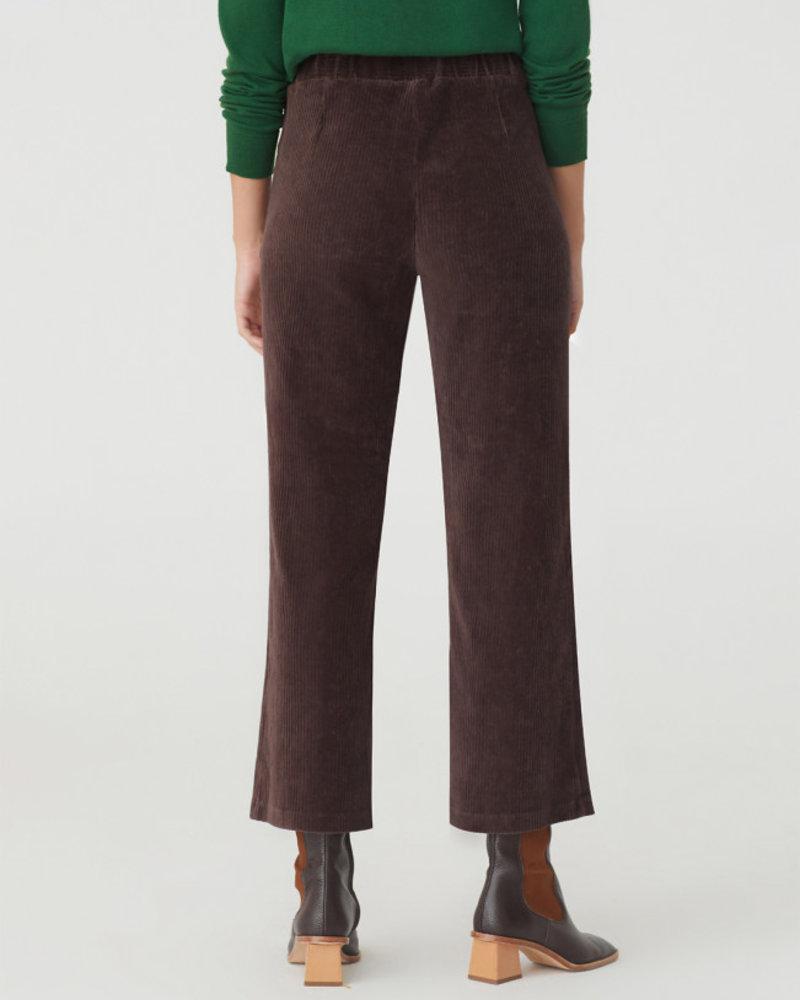 Nice Things NT Cordu Elast Pant Brown