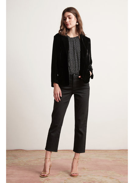 Velvet VT Bonny Silk Velvet Jacket Blk