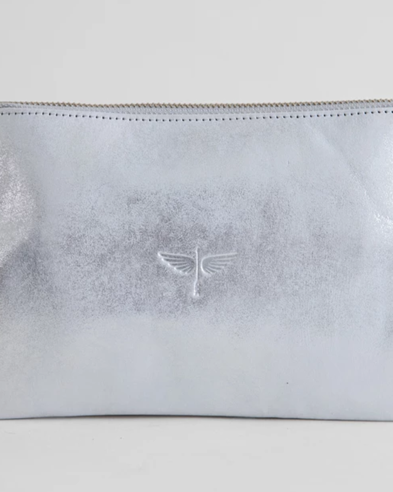 CLHEI CLHEI Pouch Wallet Silver