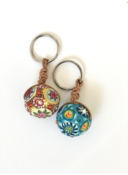 Billie Beads BLB  Big Round Key Chains