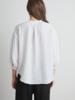 Velvet VT Lin 3/4 S/L Blou White