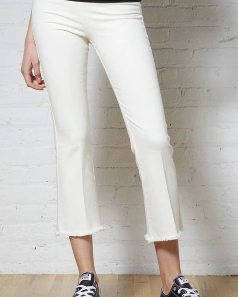 Avenue Montaigne AM Leo Denim White