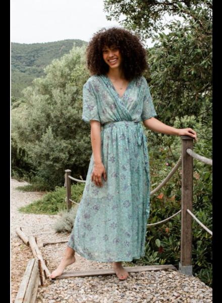 Louise Misha LM Steria Dress Almond Flw