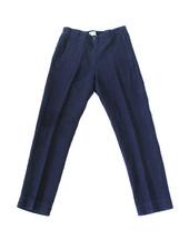 hartford HTD Linen Trouser Navy