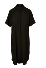 Eileen Fisher Eileen Fisher Crepe Silk Georgette Shirt Dress