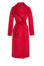 Sentaler MEGHAN - Long Wide Collar Wrap Coat