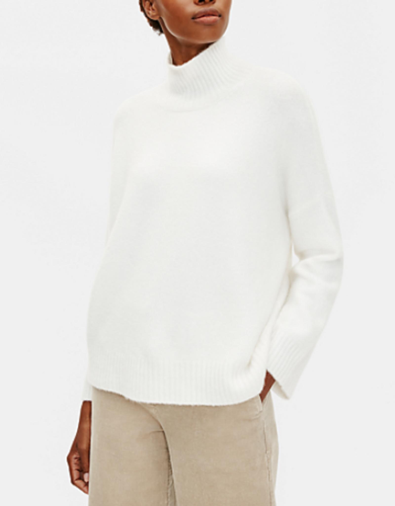 Eileen Fisher Eileen Fisher Cashmere and Silk Turtleneck Sweater