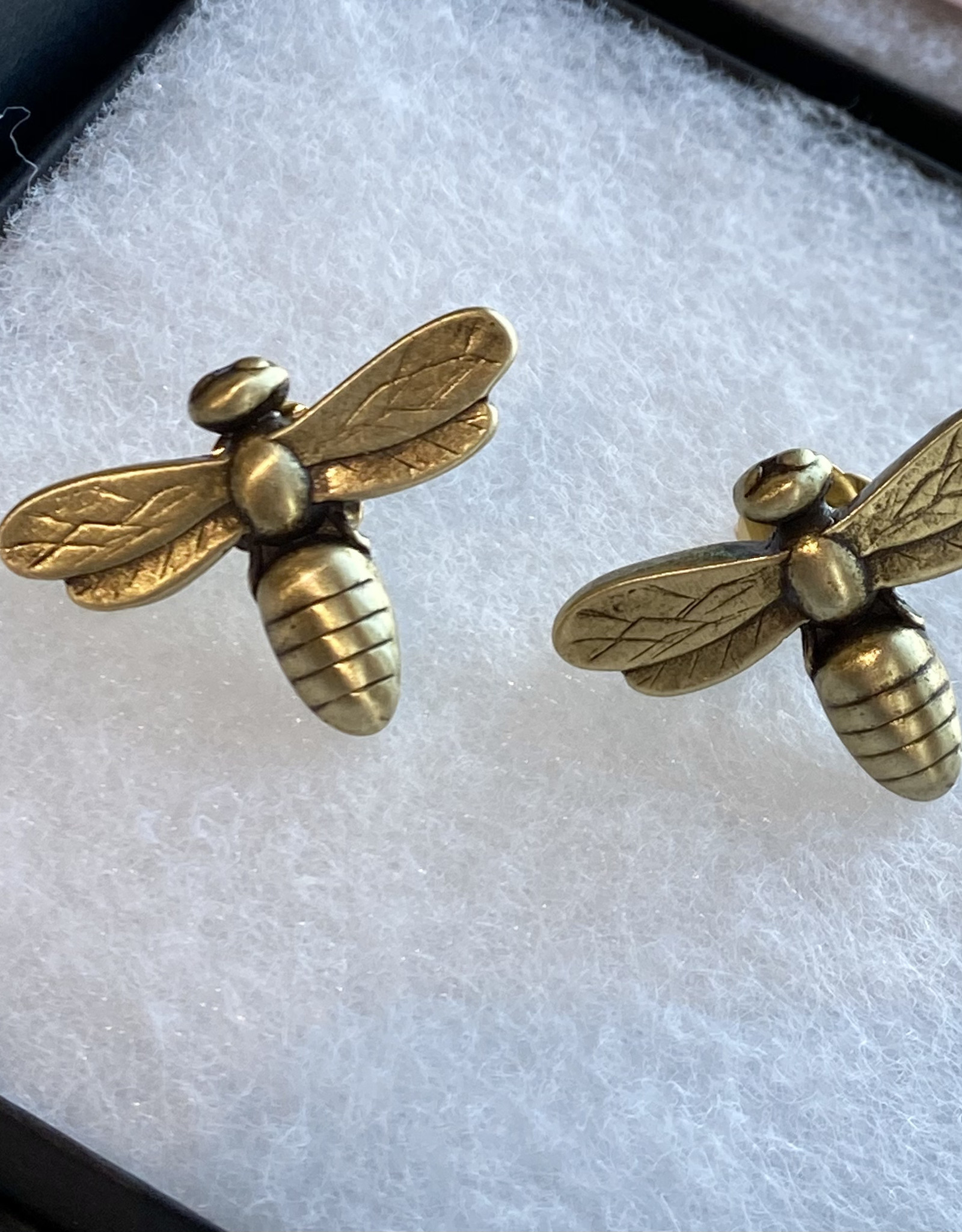 French Kande  Bee Stud Earrings